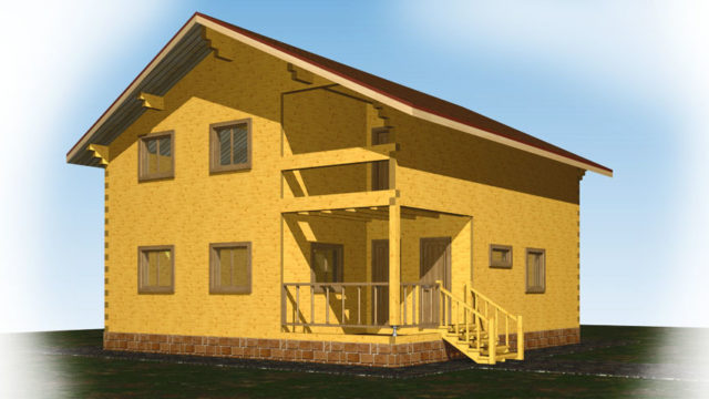 Дом АГ-145 м²