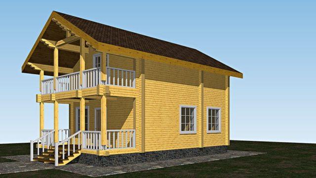 Дом-баня АГ-106 м²