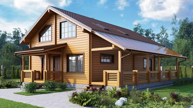 Проект дома КЛЁН-201