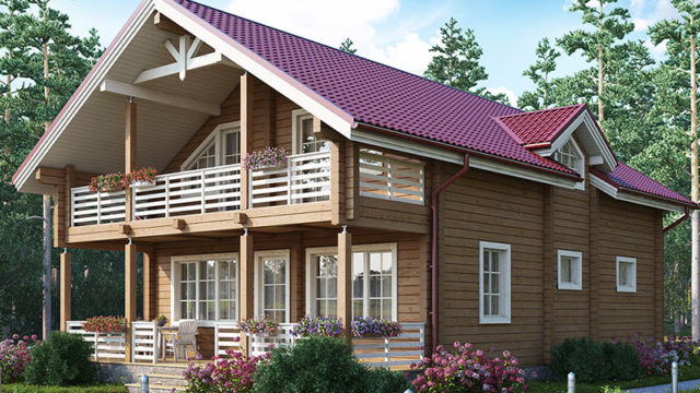 Проект дома КЛЁН-188