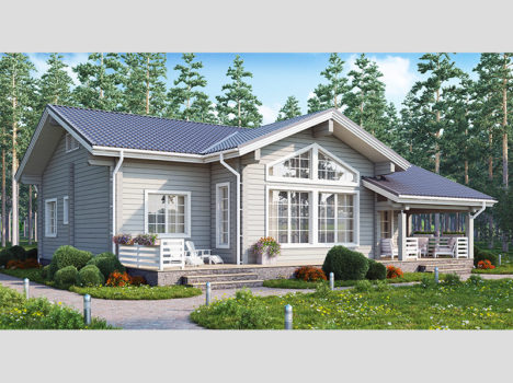 Проект дома КЛЁН-153