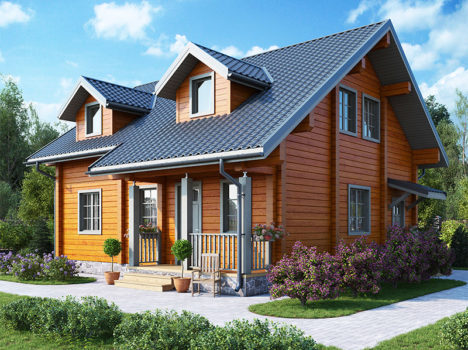 Проект дома КЛЁН-129