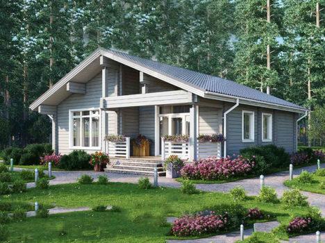Проект дома КЛЁН-126
