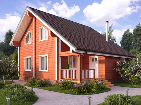 Проект дома КЛЁН-125
