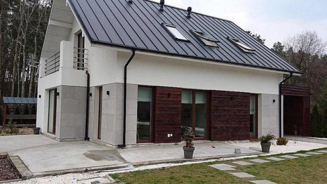 Дом из блоков КБ-119