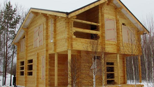 Проект двухэтажного дома 166 м²