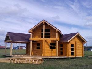 Построенные дома