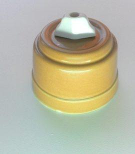 Выключатель для люстры БЕЖЕВЫЙ керамический