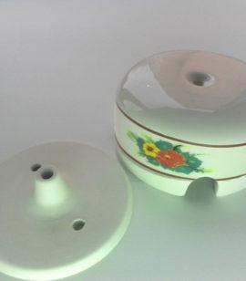 Коробка распаечная керамическая РОСПИСЬ