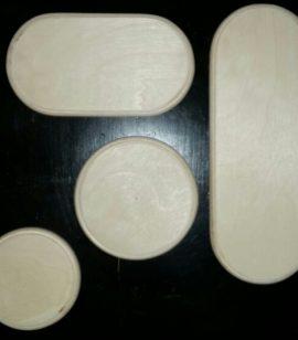 Подложка деревянная двухместная