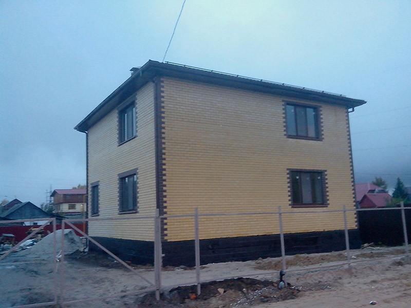 дом из керамзитоблоков в Тюмени