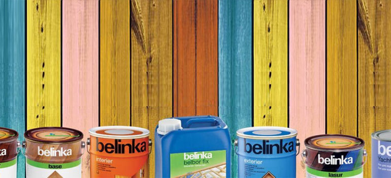 Изменение цен на материалы Belinka