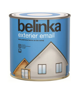 Эмаль белая для дерева BELINKA EXTERIER EMAL
