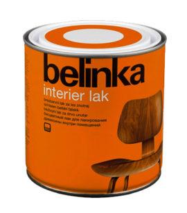 Бесцветное покрытие Belinka Interier Lak