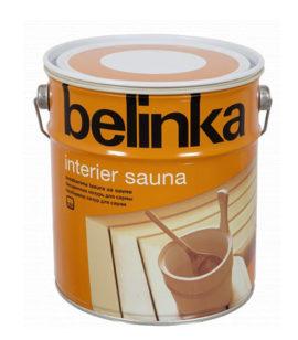 Краска для сауны, бани Belinka Interier Sauna