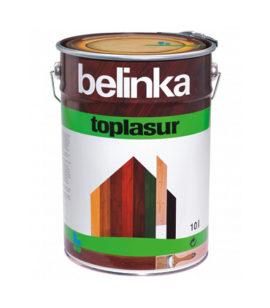 Краска декоративная Belinka Toplasur для наружных работ