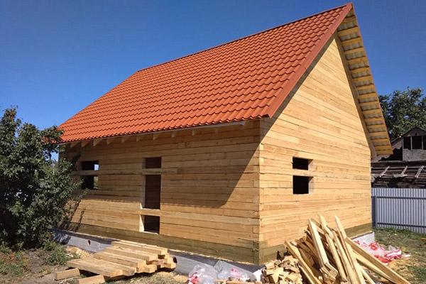 заказать строительство дома из бруса под ключ в тюмени дешево проекты и цены зимой