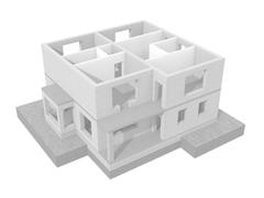 Дом из блоков Тюмень