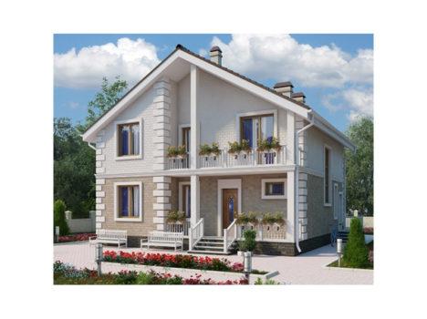 Коттедж жилого дома КБ-160