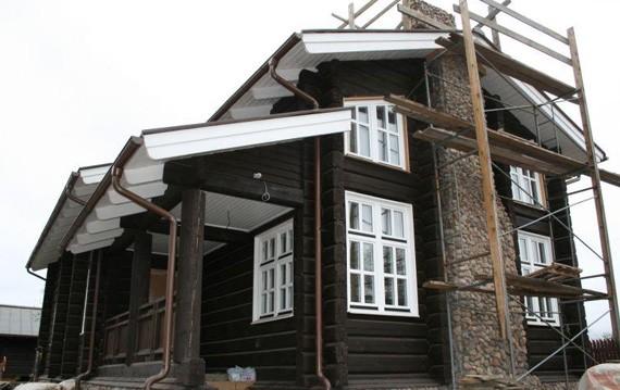 Дом из норвежского лафета под ключ