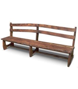Арт. № МБ-0310 Скамья деревянная состаренная