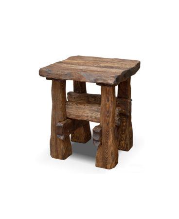 Арт. № МБ-0401/1 Табурет деревянный под старину