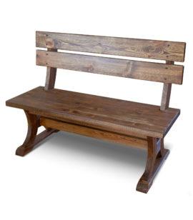 Арт. № МБ-0510 Скамейка из массива сосны