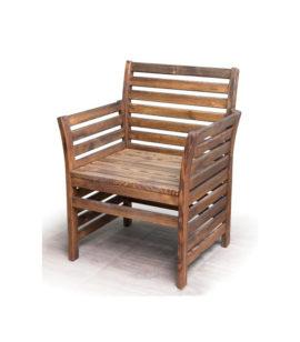 Арт. № МБ-0601 Кресло деревянное для сада