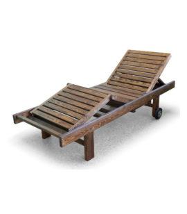 Арт. № МБ-0699 Шезлонг деревянный для дачи