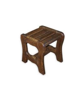 Арт. № МБ-0701/1 Табурет для бани деревянный