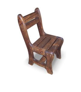 Арт. № МБ-0701 Стул для бани деревянный