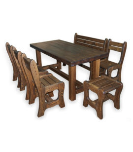 Арт. № МБ-0715 Набор мебели для бани L-1,6м