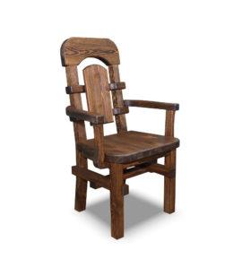Арт. № МБ-0901К Кресло деревянное с подлокотниками