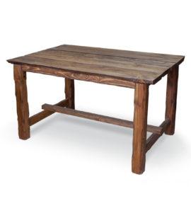 Арт. № МБ-1100 Стол деревянный рубленный 140см