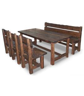 Арт. № МБ-1112 Набор мебели рубленной 140см