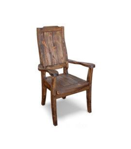 Арт. № МБ-1201 Кресло из дерева состаренное