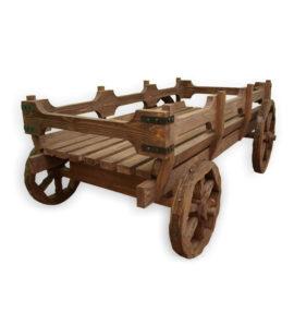 Арт. № МБ-ТЛГ Телега деревянная в миниатюре