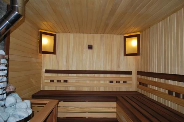 сколько стоит отделка бани за метр квадратный