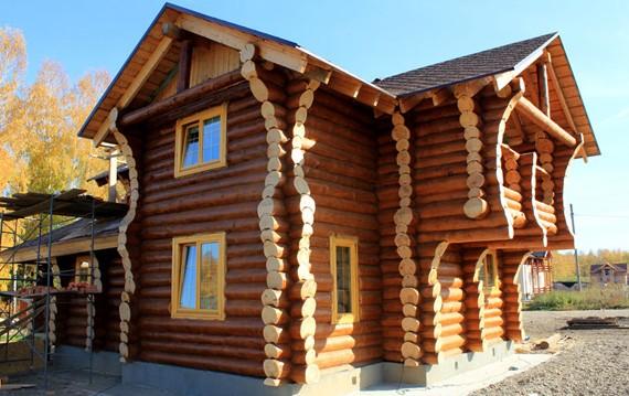 Заказать дом из бревна под ключ Тюмень