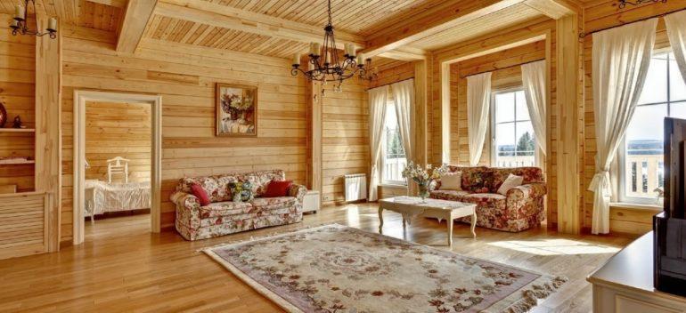 Как определиться с размером жилплощади в деревянном доме