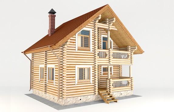 Проектирование деревянных домов бань в Тюмени