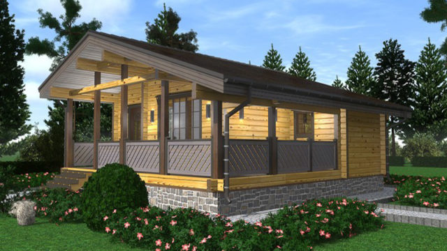 Проект дома 70,08 м.кв.