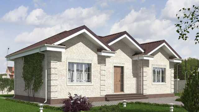 Проект дома КБ-110