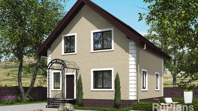 Проект загородного дома КБ-108