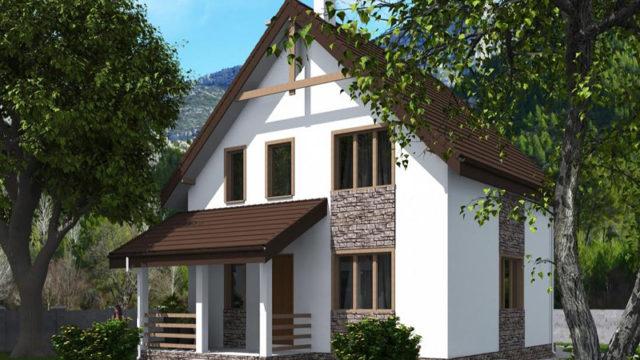 Проект дома КБ-131