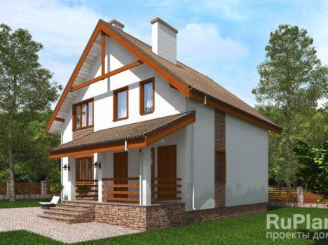 Дом с гаражом КБ-133